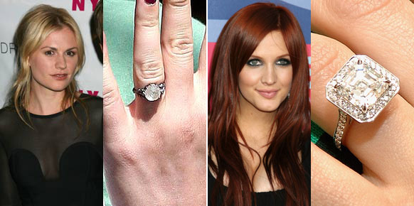 ashley simpson anna paquin engagement rings