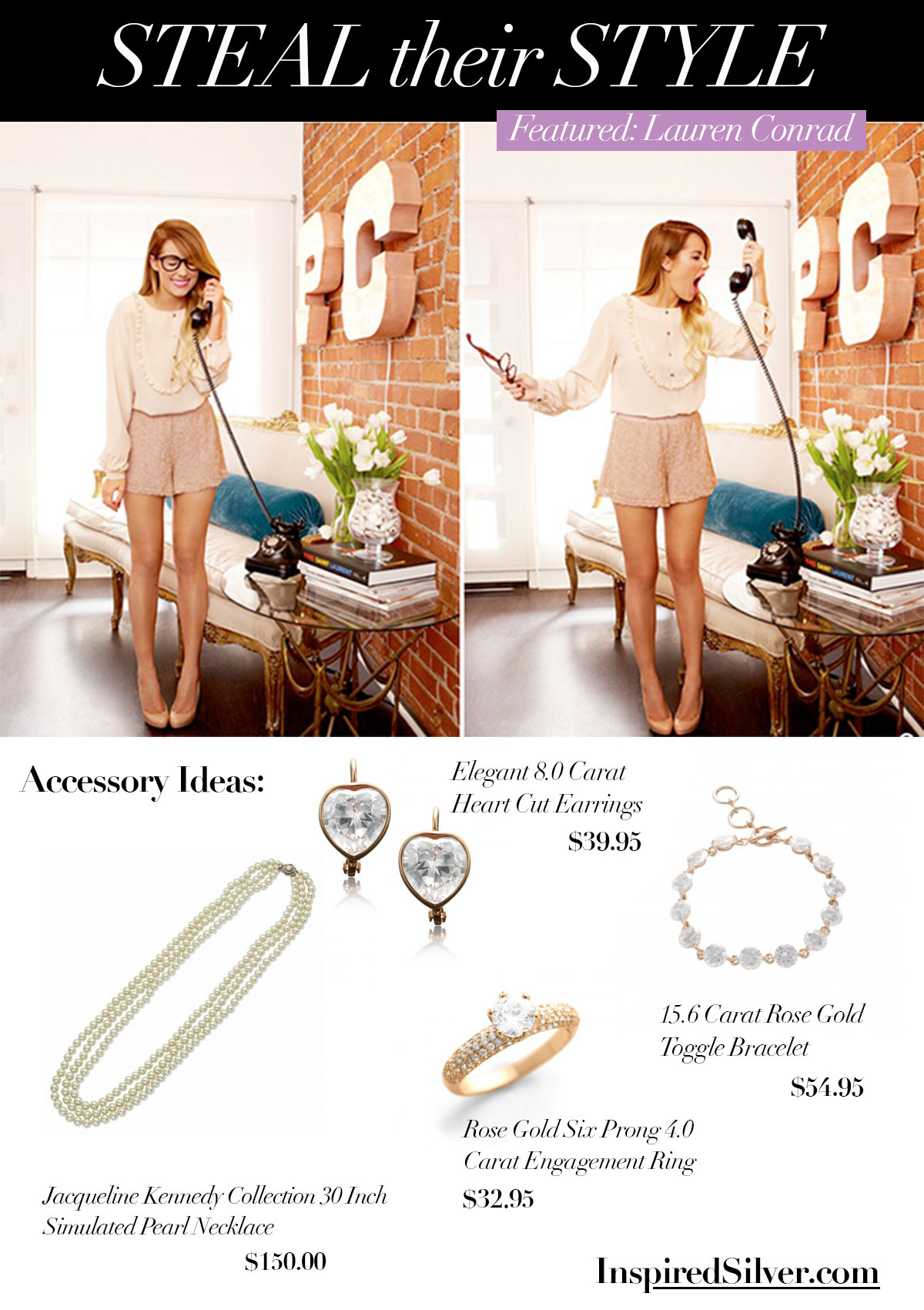 Pearls and Rose Gold Style